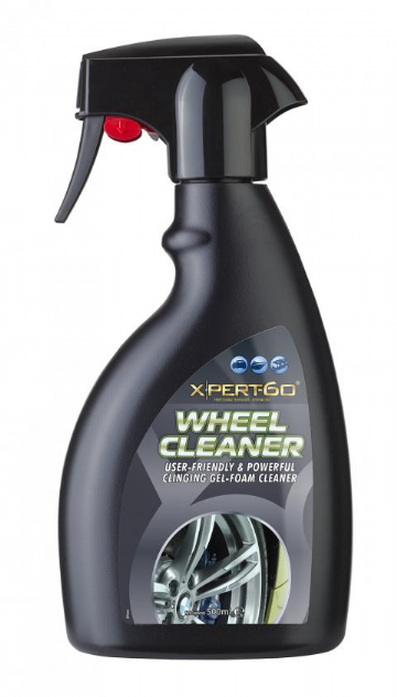 XPERT-60 WHEEL CLEANER, Powerful Gel Foam, Clinging Cleaning Action, Safe